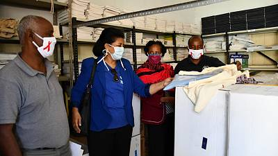 WHO Eritrea supports the Ministry of Health maternity waiting homes in remote areas with essential supplies