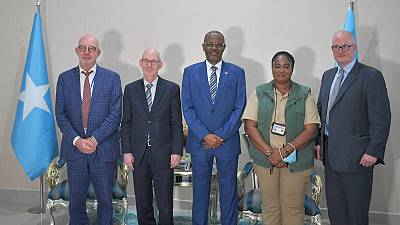 UN Delegation visits South West State to discuss support and collaboration in 2021