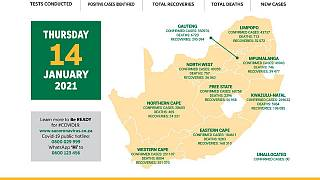 Coronavirus - South Africa: COVID-19 update (14 January 2021)