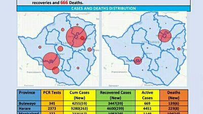 Coronavirus - Zimbabwe: COVID-19 Update (15th January 2021)