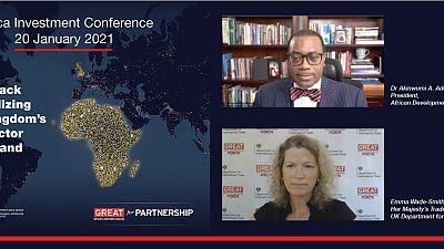 Conférence sur l'investissement en Afrique : le président de la Banque africaine de développement, Akinwumi A. Adesina, déclare que l'Afrique est la prochaine frontière commerciale du monde
