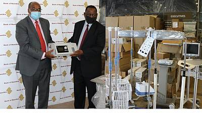 Coronavirus: Bank of Namibia donates Medical Equipment to the Ministry of Health and Social Services