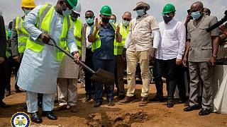 Sierra Leone's President Julius Maada Bio launches the Sierra Leone Health Village, turns Sod for the Construction of Ultra-Modern General Hospital at Kerry Town