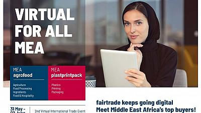 fairtrade Messe lance sa deuxième édition du salon Virtuel pour l'Afrique et le Moyen-Orient dans le secteur de l'agroalimentaire et du plastprintpack du 31 mai au 02 juin 2021