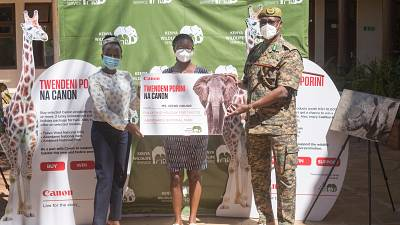 Canon creates partnerships to support Wildlife Conservation