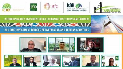 Over 1,000 Financial Stakeholders Participate in the Arab-Africa Trade Bridges Program Investment Pillar Webinar Aimed at Growing Regional Trade Investment and Technology Transfer