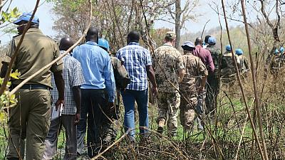 UNMISS Patrol Follows Up on Situation of People Displaced by Fighting in Eastern Equatorian Villages