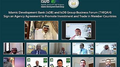 IsDB and THIQAH Sign Agency Agreement to Promote Investment and Trade in Member Countries