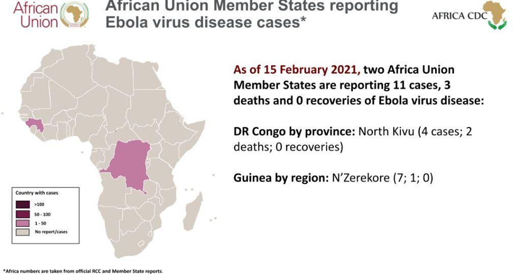 Africa Union Member States reporting Ebola Virus Disease ...