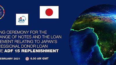 Fonds africain de développement : le Japon et le Groupe de la Banque africaine de développement concluent un accord de prêt de 73,6 milliards de yens
