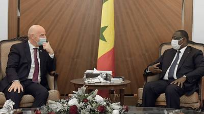 FIFA : La coopération avec l'Afrique à l'ordre du jour à Dakar