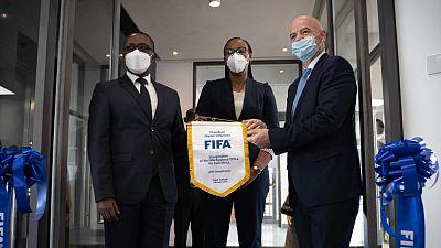 Inauguration du bureau de Développement de la FIFA à Kigali