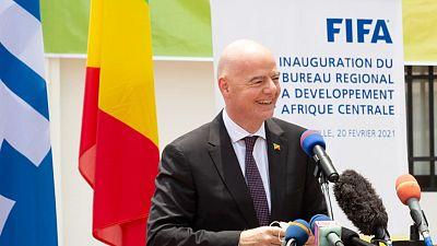 Inauguration du bureau du Développement régional de la FIFA de Brazzaville