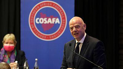 Le Président de la FIFA souligne l'importance de l'unité africaine lors de l'Assemblée de la Council of Southern African Football Associations (COSAFA)