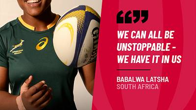 Towards a New Normal: Rugby Africa's #Unstoppable Babalwa Latsha on being a Changemaker