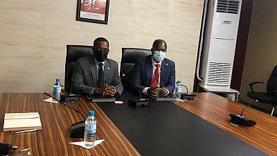La délégation du Ministère nigérian des ressources pétrolières tient une réunion bilatérale avec le Ministère des mines et des hydrocarbures de Guinée équatoriale