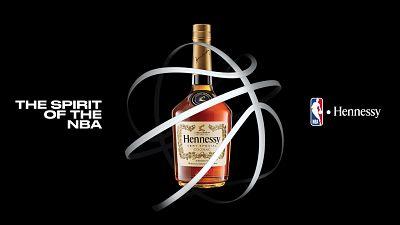 Hennessy devient le premier partenaire de spiritieux mondial de la NBA