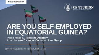 Are you Self-Employed in Equatorial Guinea? (By Pablo Mitogo and Ana Vizcarro Dyombe)