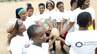 NRFF President urges women to take on greater roles in Rugby
