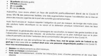 Coronavirus - Djibouti : Point de Presse sur la Situation COVID-19 le 21 mars 2021