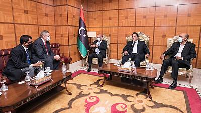Special Envoy for Libya arrives in Tripoli, holds meetings with Presidency council, Prime Minister and Foreign Minister