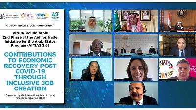 The Aid for Trade Initiative for the Arab States Program contributes to post-COVID-19 Economic Recovery through Inclusive Job Creation