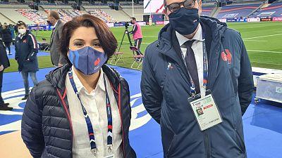 La tunisienne Wejdane Limame a eu le plaisir de vivre l'un de ses moments forts de sa carrière la semaine dernière après avoir été officier de liaison pour le commissaire à la citation pour le match des Six Nations entre la France et l'Écosse