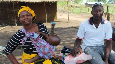 Communities host displaced people and share farmland to fight hunger in Cabo Delgado