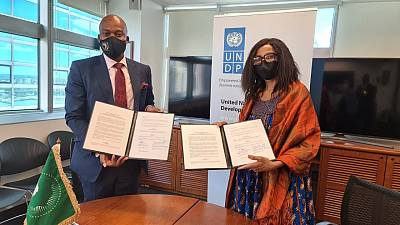 African Continental Free Trade Area (AfCFTA) and UNDP announce new partnership towards inclusive growth in Africa