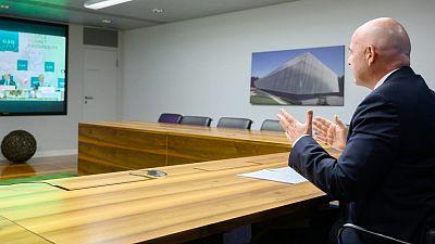 President Infantino addresses G20 on tackling corruption in sport