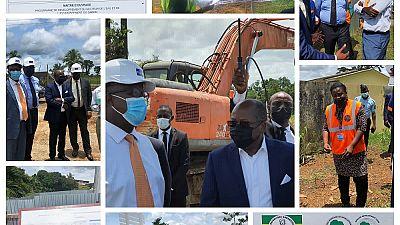 Le Gabon et la Banque africaine de développement lancent les travaux de rénovation du réseau d'eau potable du Grand Libreville