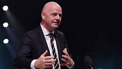 Infantino: Football will play a central role in bringing communities together