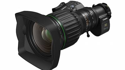 Canon announces the CJ17ex6.2B - a 4K-capable BCTV lens with wide focal length range