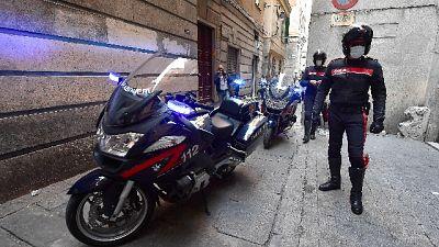 Maxi operazione Carabinieri del Comando provinciale di Genova