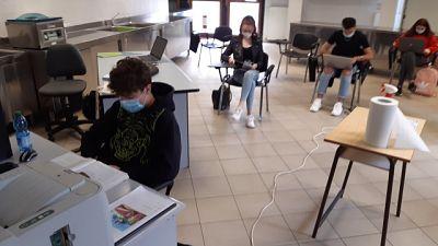 A Vicenza, lezioni iniziate in orario nonostante i controlli