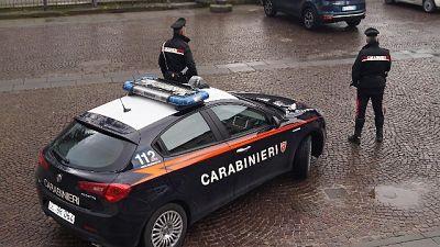 Delitto compiuto fuori da centro abitato Campana, indagano Cc