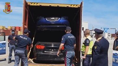 Tra Italia, Canada e nord Africa. 30 vetture sequestrate
