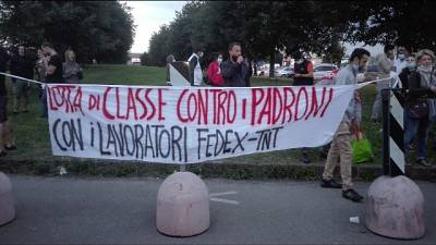 """""""'Licenziamenti' dopo sciopero per sfruttamento e salute"""""""