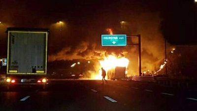 Nell'incendio in A4 vicino Verona morirono 17 persone