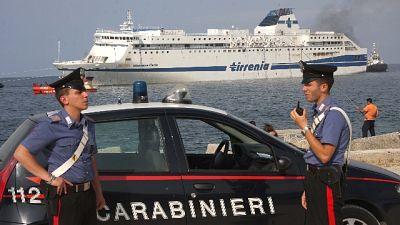 Recuperato a 6 miglia dal porto di Palermo, indagini in corso