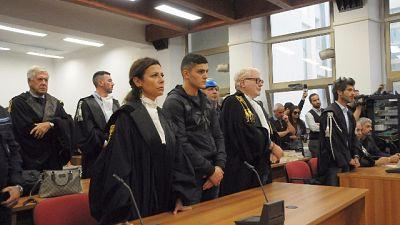 """Tensione in aula a Sassari, i parenti delle vittime """"assassino"""""""