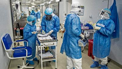 Aumentano gli ospedalizzati, 5 in più