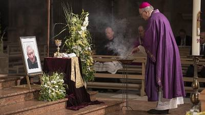 Il messaggio di Benedetto per i funerali di Georg