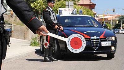 Un giovane di 27 anni posto ai domiciliari dai carabinieri