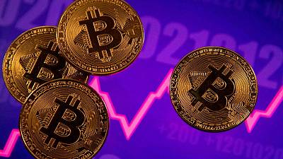 Bitcoin jumps 8%, on course to snap five days of losses