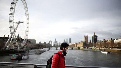 بريطانيا تسجل 2064 إصابة جديدة وست وفيات بكوفيد-19