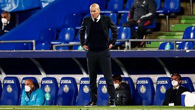 Zidane no espera sanciones para el Real Madrid por la Superliga