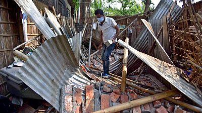 زلزال شدته 6 درجات يضرب ولاية آسام الهندية وأضرار ببعض المباني