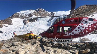Due veneti ricoverati ad Aosta. Un terzo alpinista in Svizzera