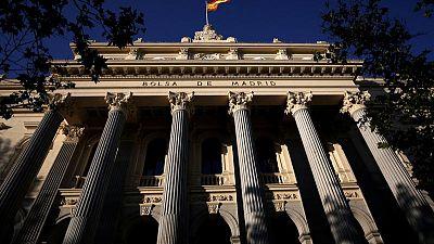 La bolsa española cierra en positivo alzado por la banca a la espera de la Fed